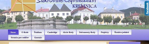 Súkromné gymnázium P. Križku Kremnica